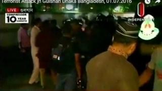 Atacuri cu arme de foc şi luare de ostatici în capitala Bangladeshului
