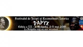 Cea de-a treia ediție a Festivalului de Jocuri și Reconstituiri Istorice - DAPYX, Medgidia 2019, aproape de start