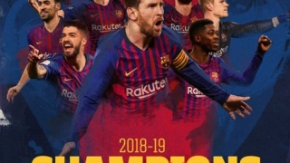FC Barcelona a câştigat titlul în Spania pentru a 26-a oară