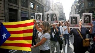 Barcelona s-a solidarizat cu politicienii catalani condamnaţi