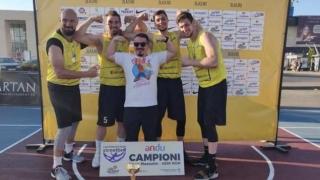 BC Athletic a câştigat primul turneu al sezonului LN 3x3 la masculin