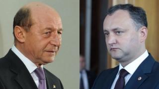 Băsescu, marele politician-problemă în R. Moldova. Dodon îl crede ridicol!
