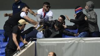 Doisprezece fani, arestaţi după incidentele de la meciul Lyon-Beşiktaş