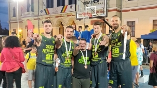 BC Athletic, pe locul 3 la turneul final al LN de baschet 3x3