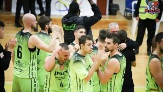 BC Athletic, victorie muncită în duelul cu CSM Focşani