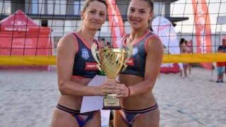 """S-a încheiat prima ediţie a turneului """"Medgidia OPEN"""" la beach-volley"""