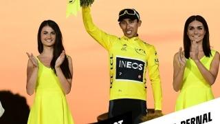 Columbianul Egan Bernal a câştigat Turul Franţei