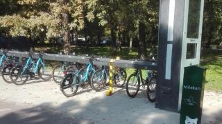 Biciclete din sistemul bike-sharing, furate și abandonate