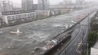 Bilanțul taifunului Jebi din Japonia: 10 morți, 300 de răniți