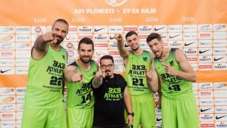 BC Athletic s-a impus și la Ploiești, înaintea turneului final al LN de baschet 3x3