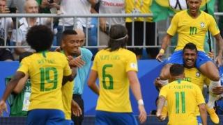 Uruguay - Franţa şi Brazilia - Belgia, primele confruntări din sferturile CM