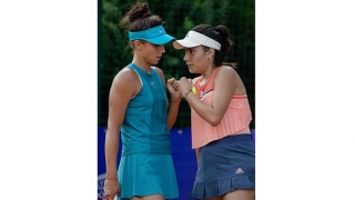 Spectacol pe terenul central la BRD Bucharest Open