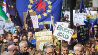 Mii de persoane, la o manifestație anti-Brexit la Londra