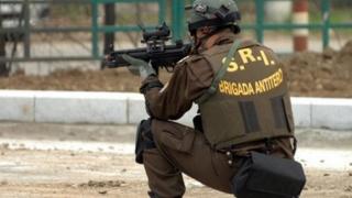 Exercițiu contraterorist al SRI, la Ambasada Israelului