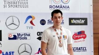 Atila Abibula şi Sebastian Tulea, medalii de bronz la CI de înot ale României