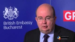 Ambasadorul Marii Britanii, în vizită la Tudorel Toader