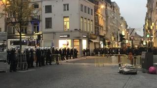 Bruxelles, lovit din nou de violențe
