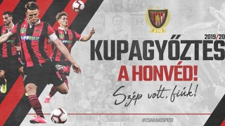 Cupa Ungariei a fost câştigată de Honved Budapesta