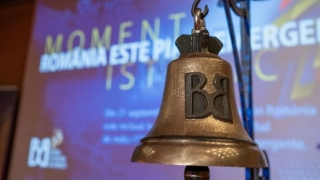 Valoarea de piaţă a companiilor româneşti listate la BVB a depăşit 120 miliarde lei în aprilie