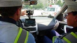 11.000 de șoferi amendați de polițiști pentru depășirea vitezei legale!