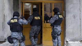 120 de percheziții pentru anihilarea unor grupări de criminalitate organizată