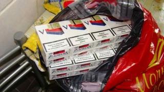 Transport de țigări de contrabandă, interceptat de polițiști