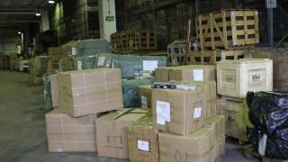 1.500 de jucării contrafăcute, confiscate în port