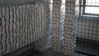 230.000 de pachete de țigări de contrabandă introduse în țară!