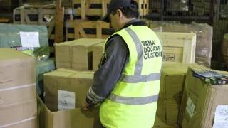 Bunuri de 24.000 de lei, confiscate în port