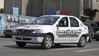 Condamnat pentru vătămare corporală, prins de polițiști