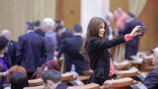 Sexi-deputata PSD, audiată în Comisia SRI