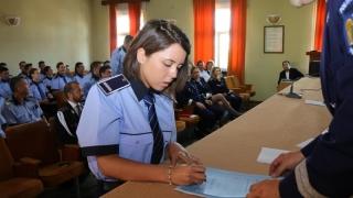 50 de polițiști încadrați din sursă externă au depus jurământul de credință!