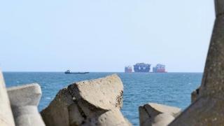 72 de nave în porturile maritime din România
