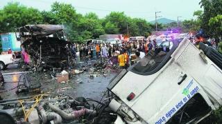 Accident rutier grav în Thailanda