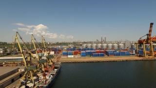 A crescut traficul de containere în Portul Constanța