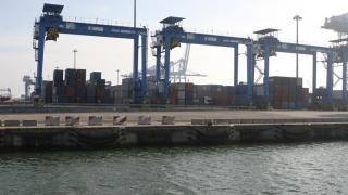 A crescut traficul de mărfuri în porturile maritime