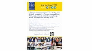 """Admitere la """"Ovidius"""" pentru absolvenții de licee din Republica Moldova"""