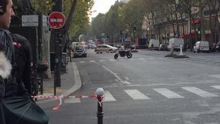 Alertă cu bombă la Paris: străzi pustii, explozie controlată