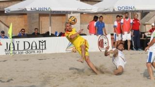 Amicale cu Bulgaria pentru naționala de fotbal pe plajă a României