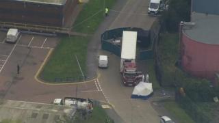 Camion bulgăresc cu 39 de cadavre, descoperit în Anglia