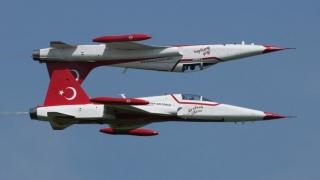 Campanie aeriană împotriva kurzilor
