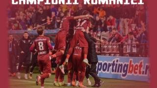 CFR Cluj, campioana României pentru al doilea an consecutiv