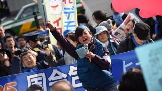 Ample proteste antiamericane în Japonia