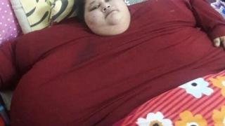 A murit cea mai grasă femeie din lume!