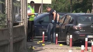 Ca-n filmele cu mafioţi! O cutie suspectă a explodat lângă un ofițer MAI