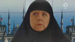 Angela Merkel susține interzicerea vălului musulman integral în Germania