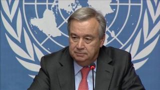 Antonio Guterres, propus pentru funcţia de secretar general ONU