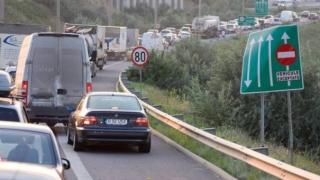 Carambol pe Autostrada Soarelui! Coloană de mașini pe câțiva kilometri
