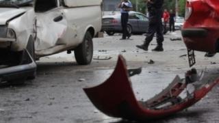 Două persoane moarte, într-un carambol cu patru mașini implicate