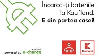 Ai mașină electrică? O încarci gratuit la Kaufland. Vezi cum